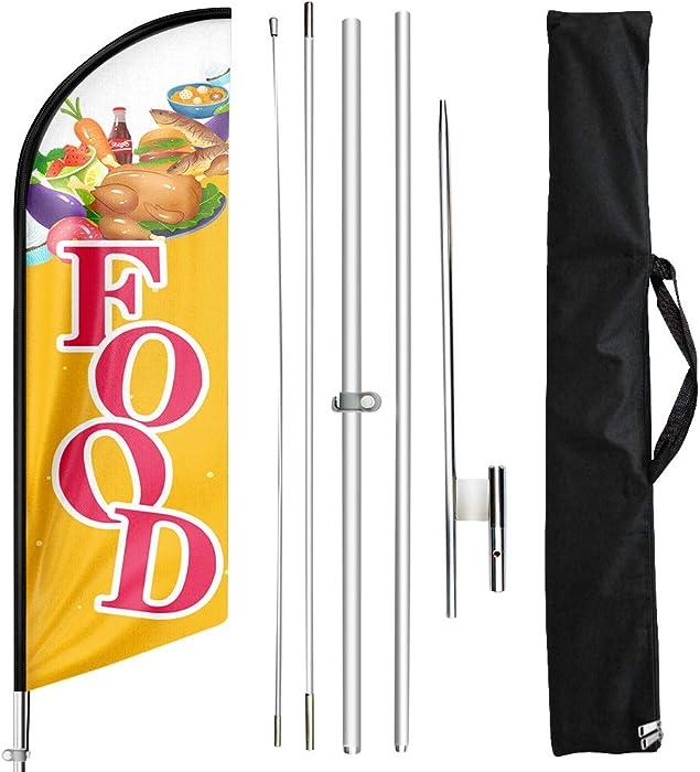 Top 10 Food Swooper Flag