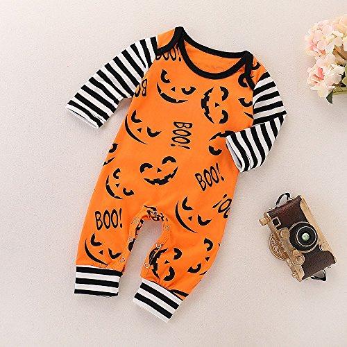 MOKO-PP Halloween Toddler Baby Boy Girls Letter Print