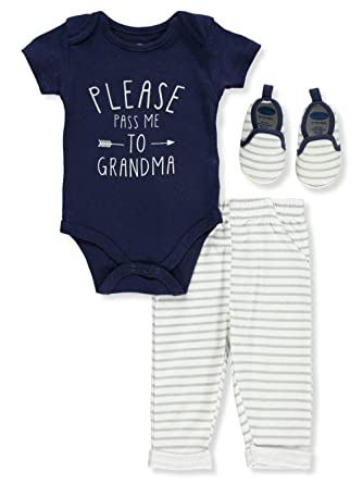 5560367ac Amazon.com  Bon Bebe Baby Boys  3-Piece Pants Set Outfit  Clothing