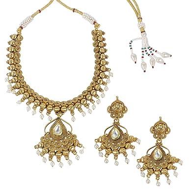 2019 New Style Traditional Ethnic Bollywood Kundan Polki Dangle Earrings Set Designer Jewellery Engagement & Wedding Jewelry & Watches