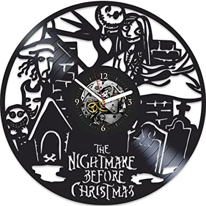 the nightmare before christmas clock xmas gift for kids nightmare before christmas birthday gift