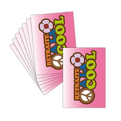 Tarjeta despedida en jubilación - 8 tarjetas - Tarjeta ...