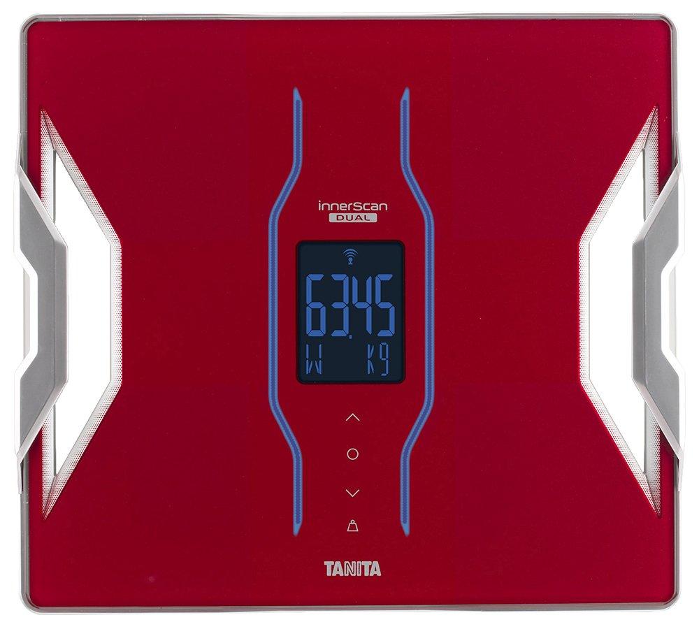 タニタ 体組成計 インナースキャンデュアル スマホ対応 レッド RD-905-RD B011DNSVPS