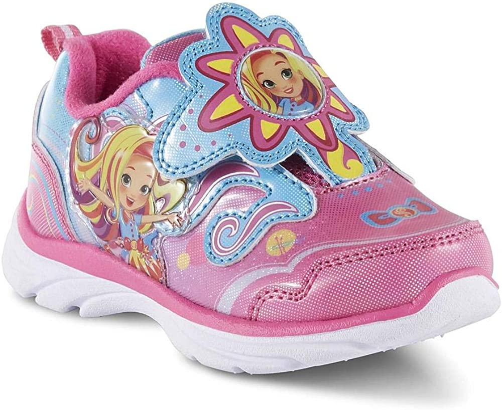 Sunny Day Doll Shoes for Girls Athletic Sneaker Toddler Kids