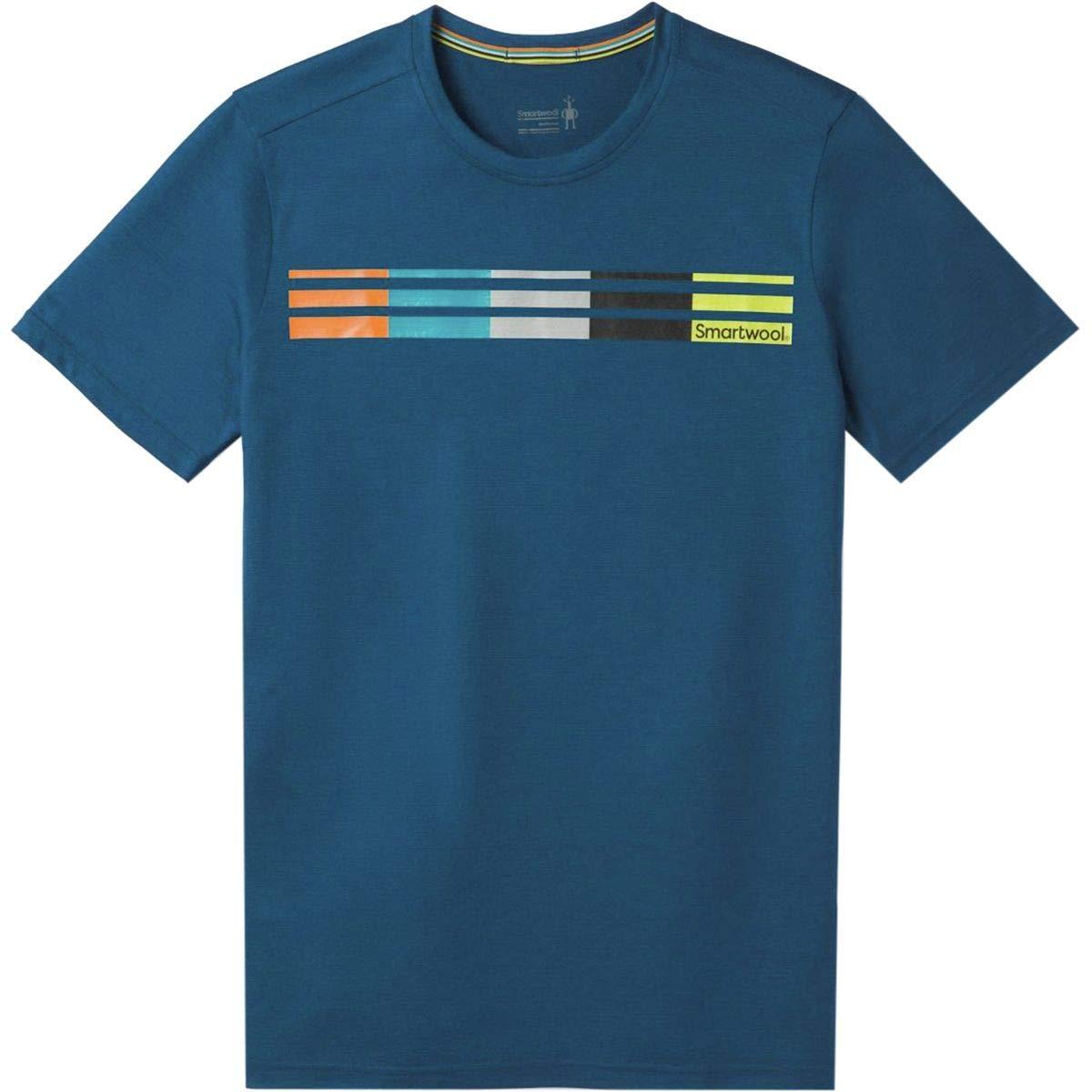 SmartWool Merino Sport 150 Flag Logo Camiseta Hombre