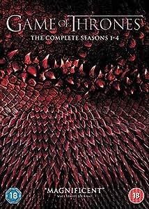 Game of Thrones - Season 1-4 [DVD] [2015] [Region 2 DVD, Requires a Multi Region DVD Player]