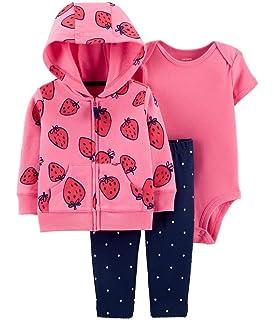 0932aa6c1 Amazon.com: Carter's Infant Girls 3 Piece Scotty Dog Set Plush ...