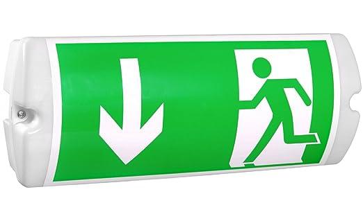 Lampada di emergenza a led ip illuminazione di emergenza di