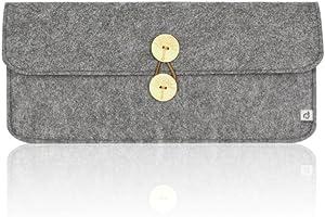 Masino Felt Keyboard Sleeve Case Bag for Apple Magic Keyboard (MLA22LL/A) (for Magic Keybaord (MLA22L/A), Case- Felt Grey)