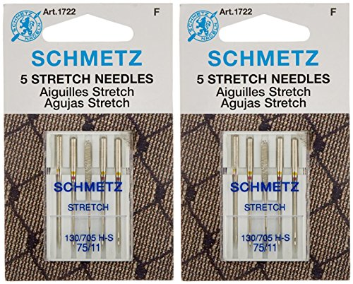 Stretch Machine Needles-Size 75/11 5/Pkg (2 packs) ()