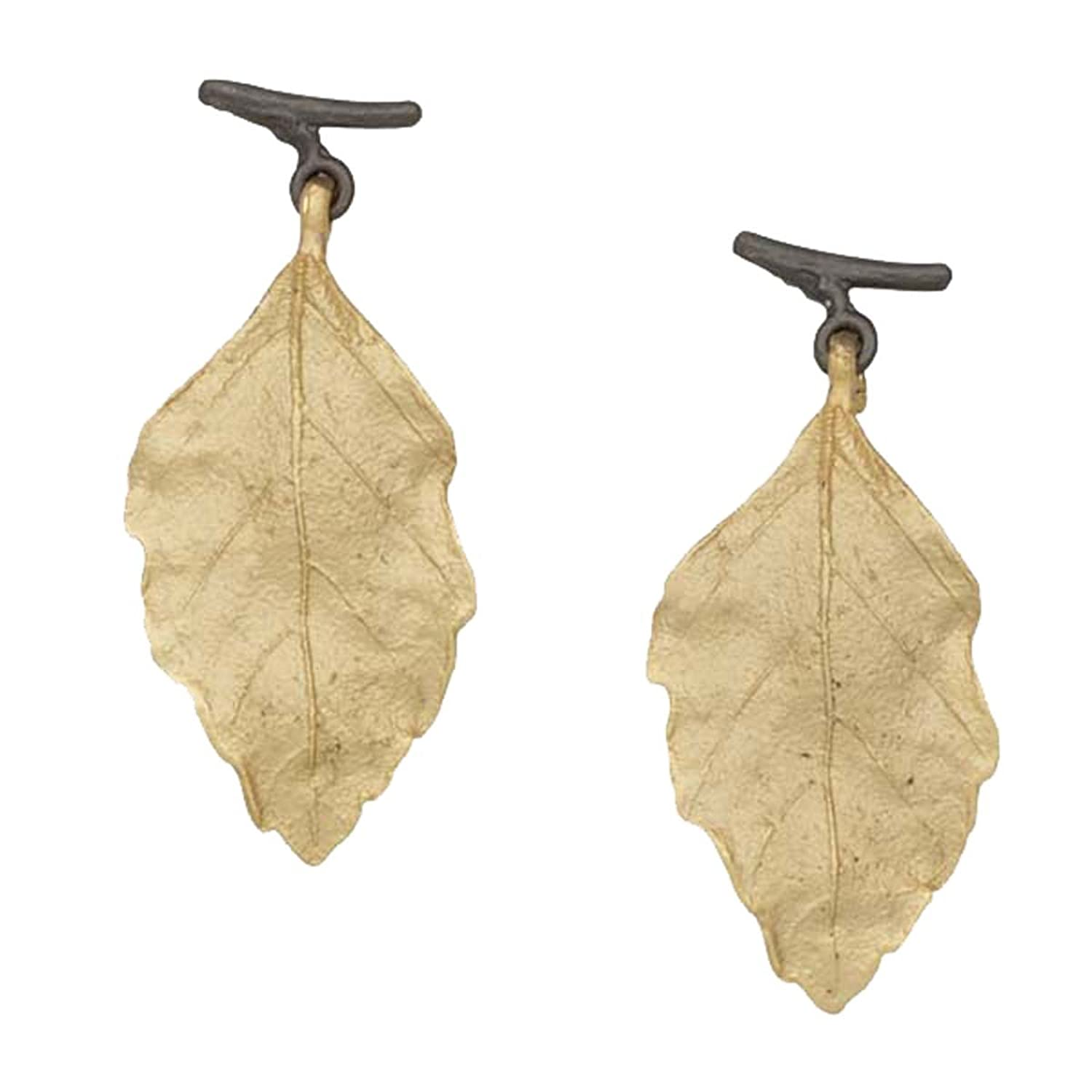 """Autumn Birch"" Post Earrings By Michael Michaud for Silver Seasons…"