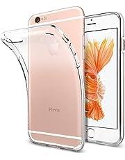 Spigen Coque iPhone 6/6s, [Liquid Crystal] TPU Silicone [ Transparent Souple Discret ] Coque Housse Etui pour iPhone 6 / 6s (SGP11596)