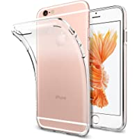 Spigen Coque iPhone 6s/6, [Liquid Crystal] TPU Silicone Transparent Ultra-Fine, Coque Etui Housse iphone 6/6s Liquid Crystal (SGP11596)