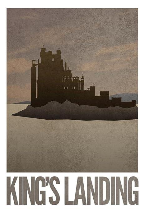 Kings Landing Travel Poster