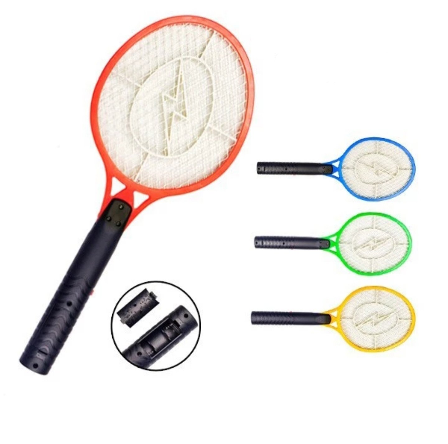 Handheld Bug Zapper Electric Bug Zapper Fly/Mosquito Swatter Best for Indoor and Outdoor Pest Control by Zapz (Image #3)