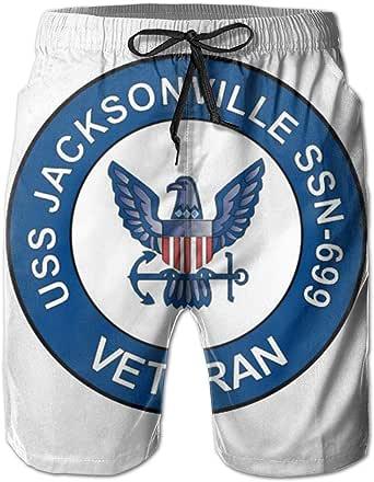 Chenzqo USS Jacksonville SSN-699 Veteran Men's Beach