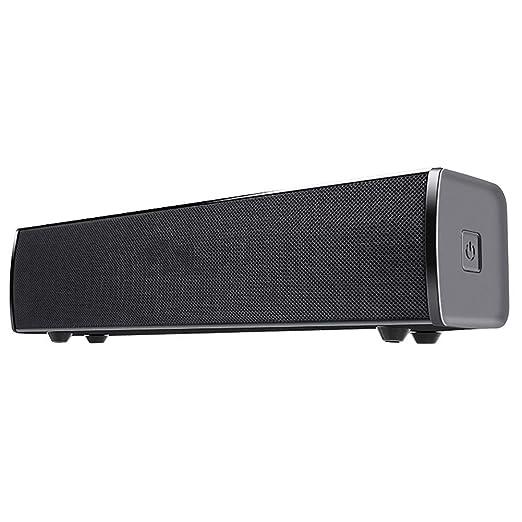 DBGS Barra de Sonido con Cable y Altavoz Bluetooth inalámbrico con ...
