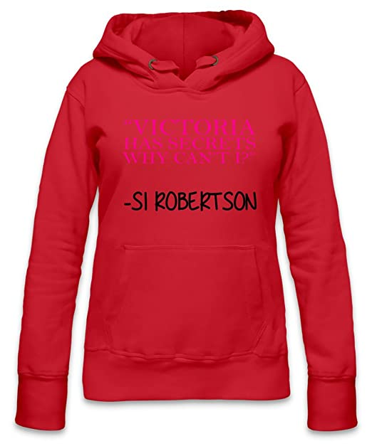 Victoria Secrets Why Cant I Slogan Womens Hoodie X-Large