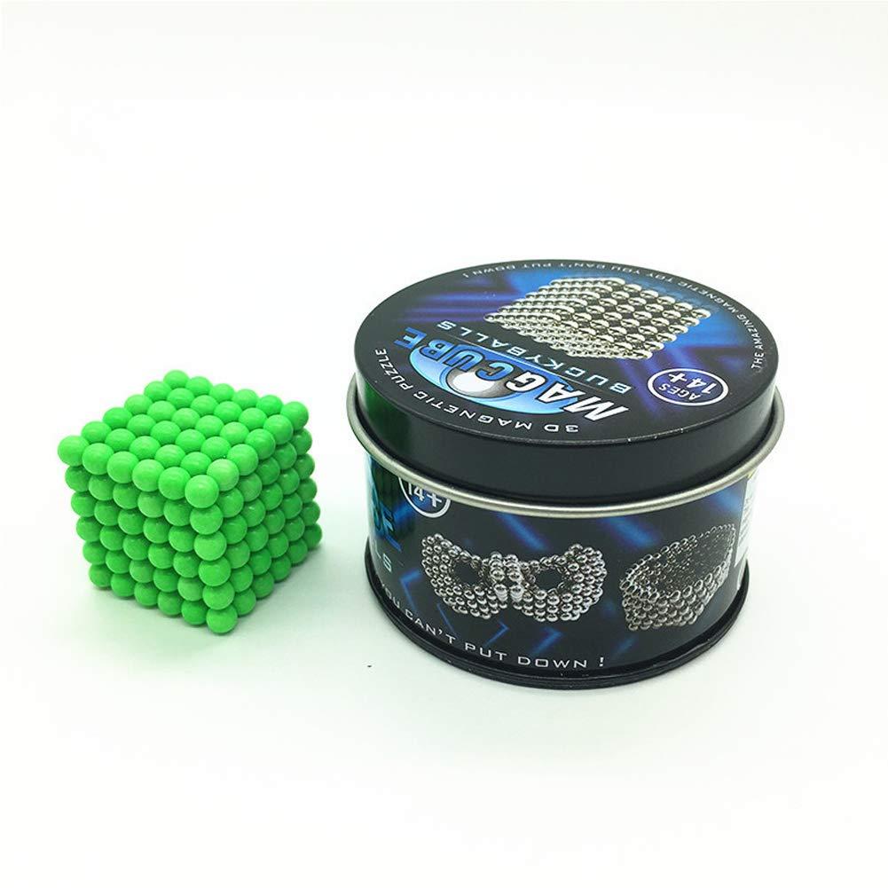 XHN 5MM Buck Balls for Kids,216 Buck pcs Ball Glowing at Night, DIY Creative Toy with Beautiful Iron Box Packaging by XHN