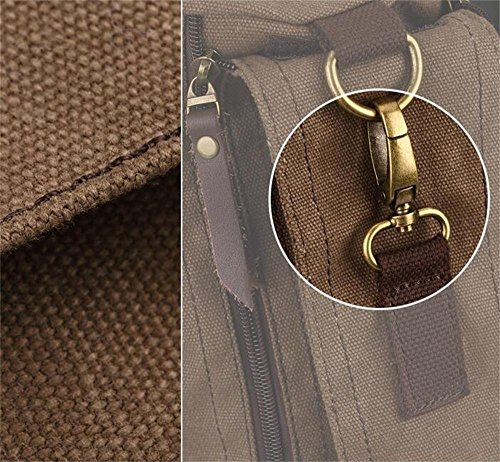 DELLT-Kreative Persönlichkeit lässig Leinwand Rucksack Reisetasche Mann Tasche koreanischen Gezeiten- Paket Berg Taschen