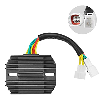 Compatible with Suzuki Voltage Regulator Rectifier For GSXR600 GSXR750 2006-2011: Automotive