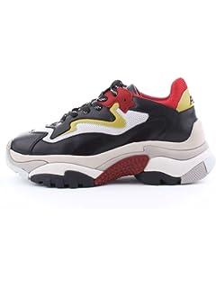 60a464680e8 Ash Chaussures Addict Baskets Rouge Et Noir Femme  Amazon.fr ...
