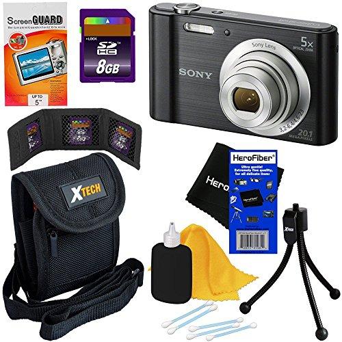 Sony DSC-W800 Digital Camera (Black) - 7
