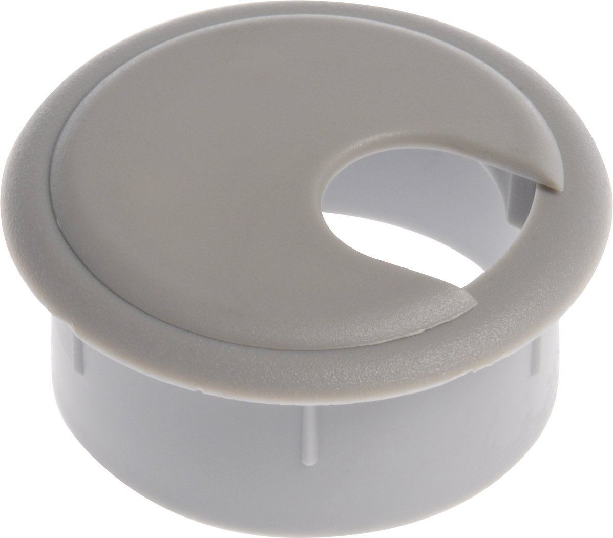 The Hillman Group 59340 Grey Grommet with Cap, 2-1/2-Inch, 2-Pack