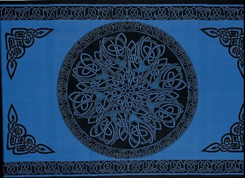 SS07406 - India Arts Celtic Tapestry ~ Double & Full Sizes A