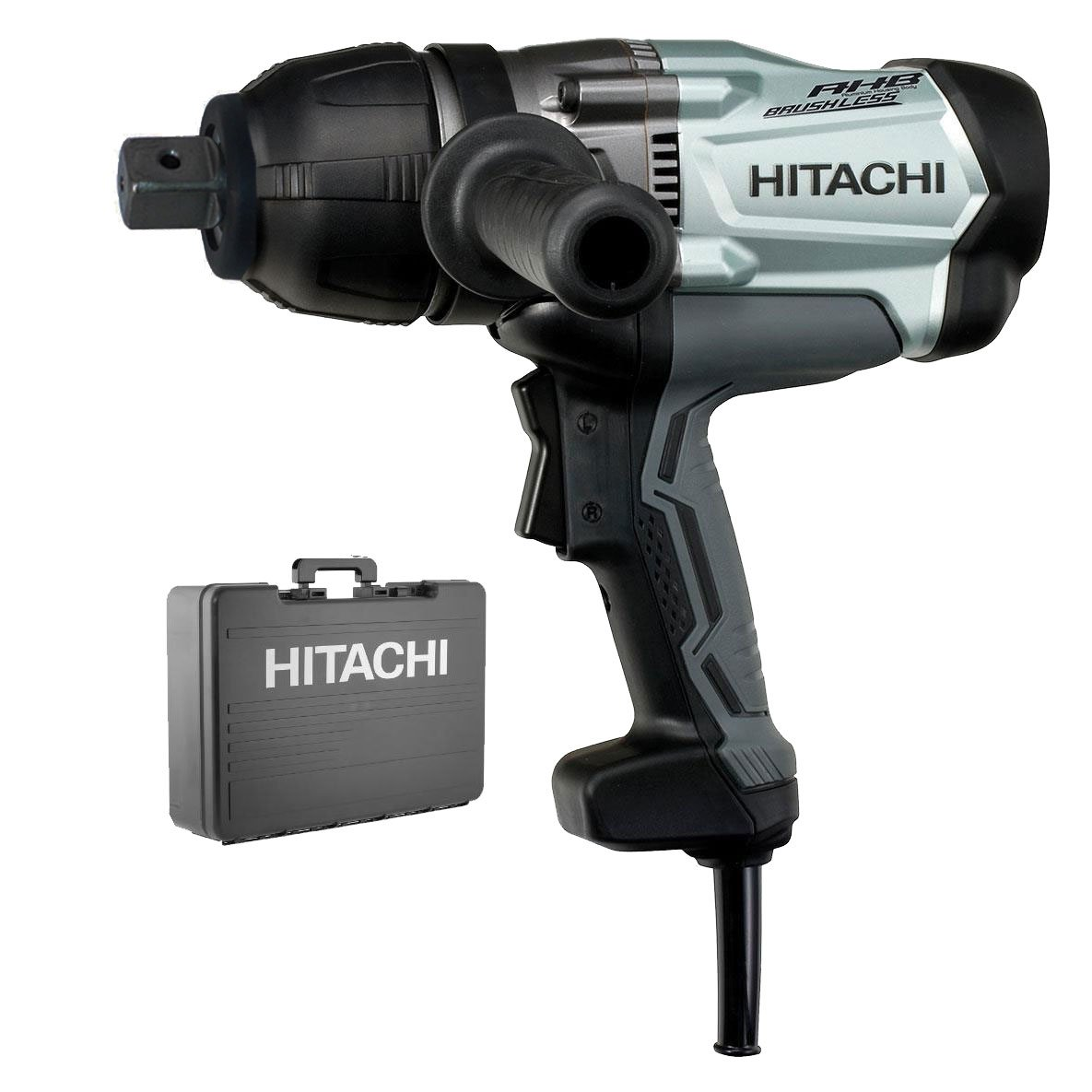 Hitachi WR25SE 1'' Square Drive AC Brushless Motor Impact Wrench,