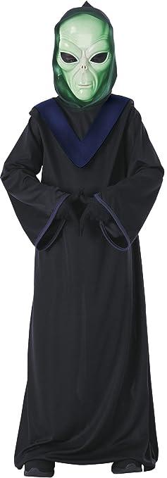 Glow-In-The-Dark Kids Halloween Costumes: Rubies Alien Commander Child Costume