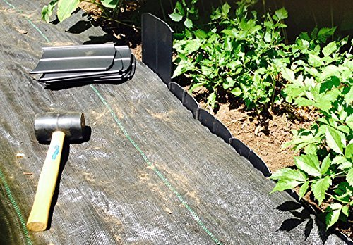 Pro 5 Ounce Weed Barrier - Weed Control Landscape Fabric - Woven Geotextile Fabric - Erosion Control Mulch Mat - Garden Ground Cover Fabric - 6Ft X 250Ft Black by UNI-SOURCE-TEXTILE (Image #6)