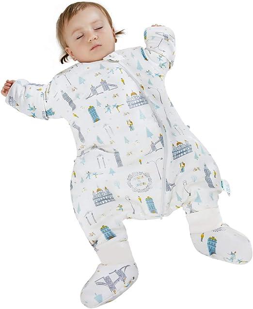 Amazon.com: Zole - Saco de dormir para bebé (algodón, con ...