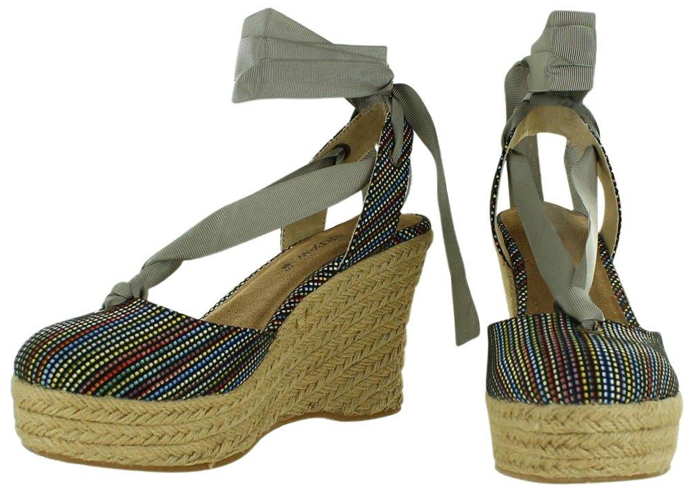 BEARPAW Women's Ginger Sandal B0090WQDXC 9 B(M) US Black