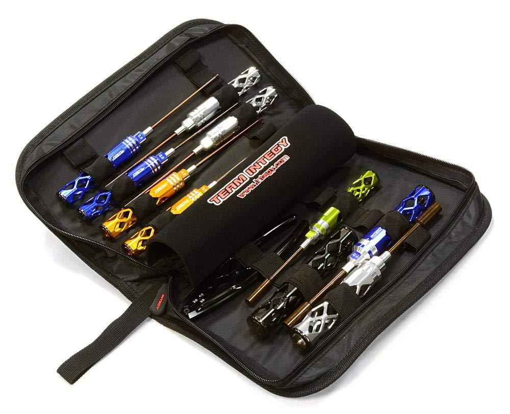 mejor oferta INTEGY INTEGY INTEGY RC Model Hop-ups C26095 Professional 11pcs Competition Tool Set w  Cocherying Bag  ¡No dudes! ¡Compra ahora!