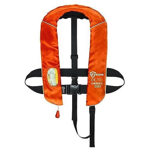 国土交通省が定めた安全基準を満たした桜マーク入りのライフジャケット。幼児用小型船舶用救命胴衣Type Aを取得しているので、船釣りにも対応。バックルを留め、ベルトを締めるだけの簡単着用で、樹脂製のホイッスル付き。幼児用はうつ伏せに落水した際に反転する性能を備えています。
