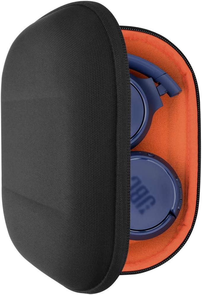 Geekria UltraShell - Funda para auriculares JBL Tune 600 BTNC, Live 400BT, Tune 500BT, TUNE 600BTNC, T450BT y más negro