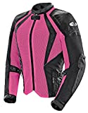 Joe Rocket Cleo Elite - Womens' Textile Mesh Motorcycle Jacket - Pink - X-Large