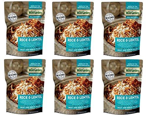 Wild Garden Heat and Serve Pilaf 8.8 oz (Rice & Lentil, Pack - 6)