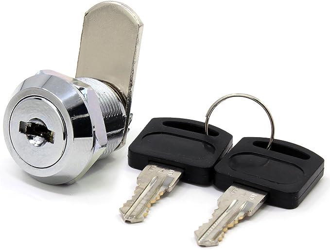 per cassetti Bona Serratura a cilindro con 2/chiavi di sicurezza confezione da 5 pezzi cassette della posta e cassette degli attrezzi armadietti