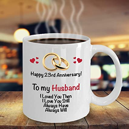 Amazoncom 23rd Anniversary Gift Ideas For Husband 23rd