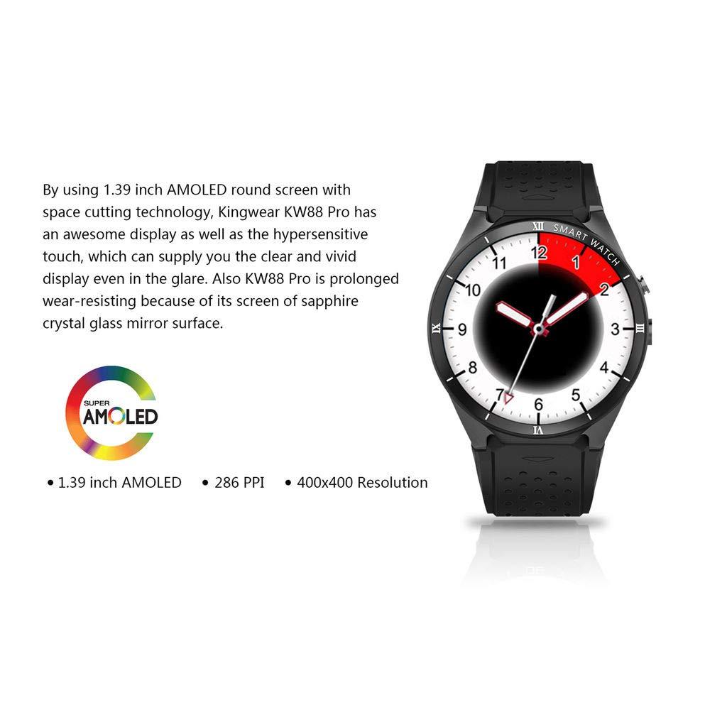 HKPLDE Smartwatch Ranura para Tarjeta SIM/Fitness Tracker ...