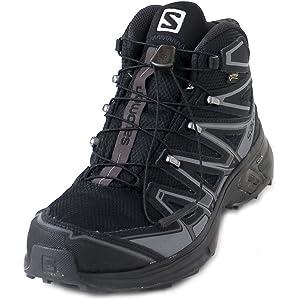 SALOMON Herren L39183200 Trekking & Wanderstiefel, Schwarz