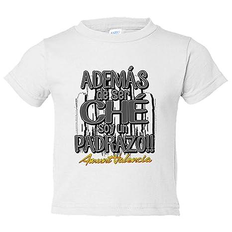Camiseta niño además de ser Ché soy un padrazo Valencia ...