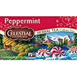 Celestial Seasonings Herbal Tea, Peppermint, 20 Count - Best Reviews Guide