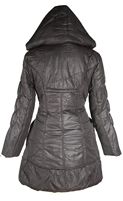 Warm Ballon Kapuze Winterjacke Jacke kurz Mantel Lagenlook