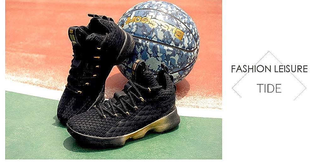 buy online f9a37 5ec36 Amazon.com   JIYE Men s Fashion Basketball Shoes Women s Breathable Flyknit  Sneakers   Basketball