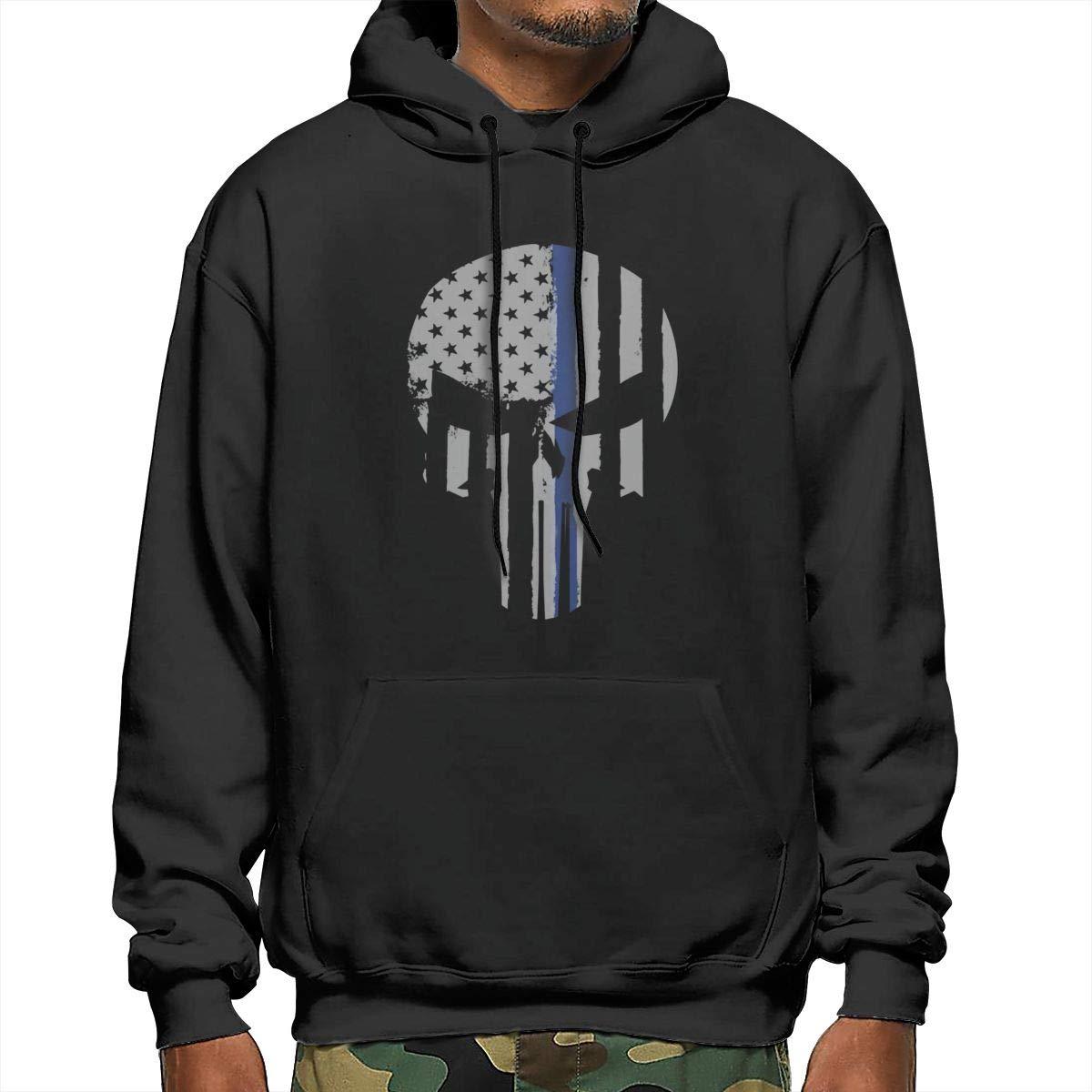 The Punisher Skull Military American Alter Ego Liberty Mens Sweatshirt