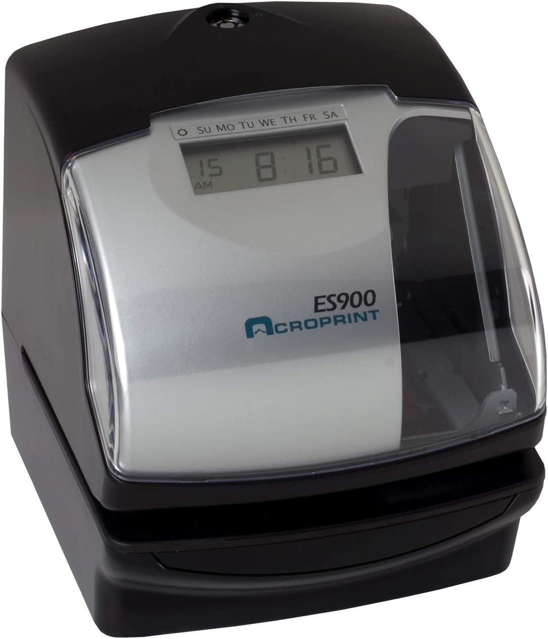 Acroprint Model 175 Time Stamp /& Numbering Machine Electronic Payroll Cost Recorder