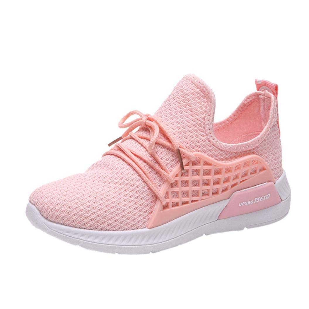 Scarpe, resplend donne scarpe da corsa scarpe da ginnastica scarpe sportive Stretch Tessuto Tinta Unita schnuerschuhe Cross, Tutore per il tempo libero scarpe 39 EU Nero